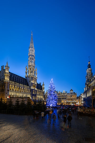 Brussels Grand Place, December 2018