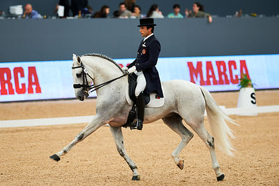 during CDI3 Trofeo Marca competition at Madrid Horse Week at IFEMA, Madrid - Spain