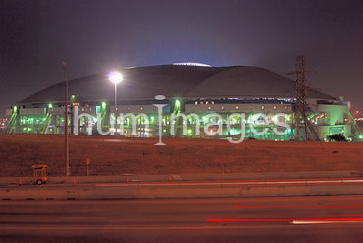 Texas Stadium at Night (home of the Dallas Cowboys)