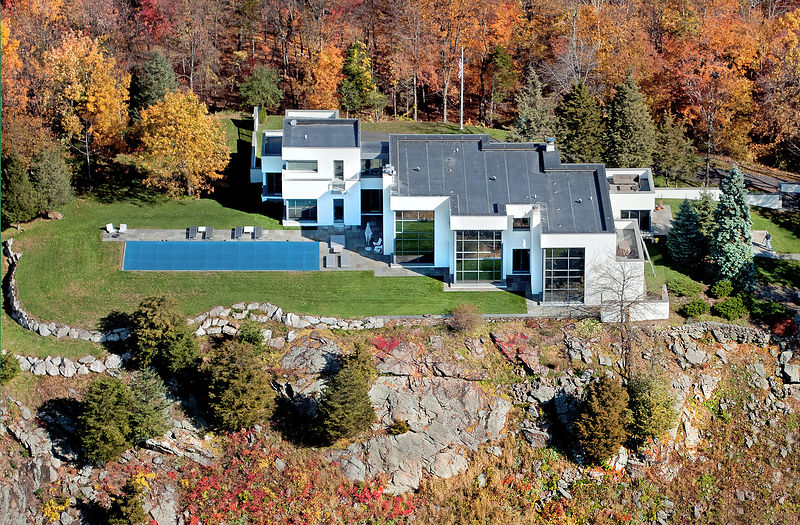 Aerial Architectural Homes Connecticut