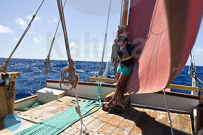 Hokule'a Statewide sail - August 2012
