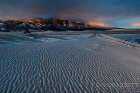 Storm over California Peak | Great Sand Dunes National Park, CO