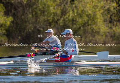 Taken during the World Masters Games - Rowing, Lake Karapiro, Cambridge, New Zealand; Tuesday April 25, 2017:   5145 -- 20170...