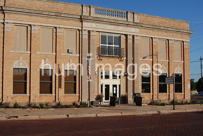 Municipal building in Childress, Texas