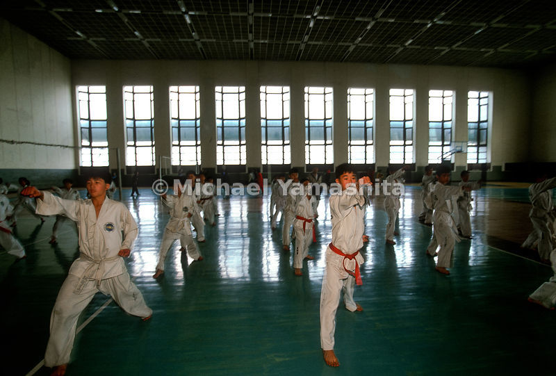 School Children's Palace with After School Activities, Pyongyang, North Korea