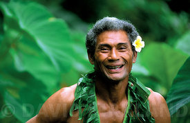 Happy face of Samoa