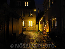 The cozy old streets of Dragør