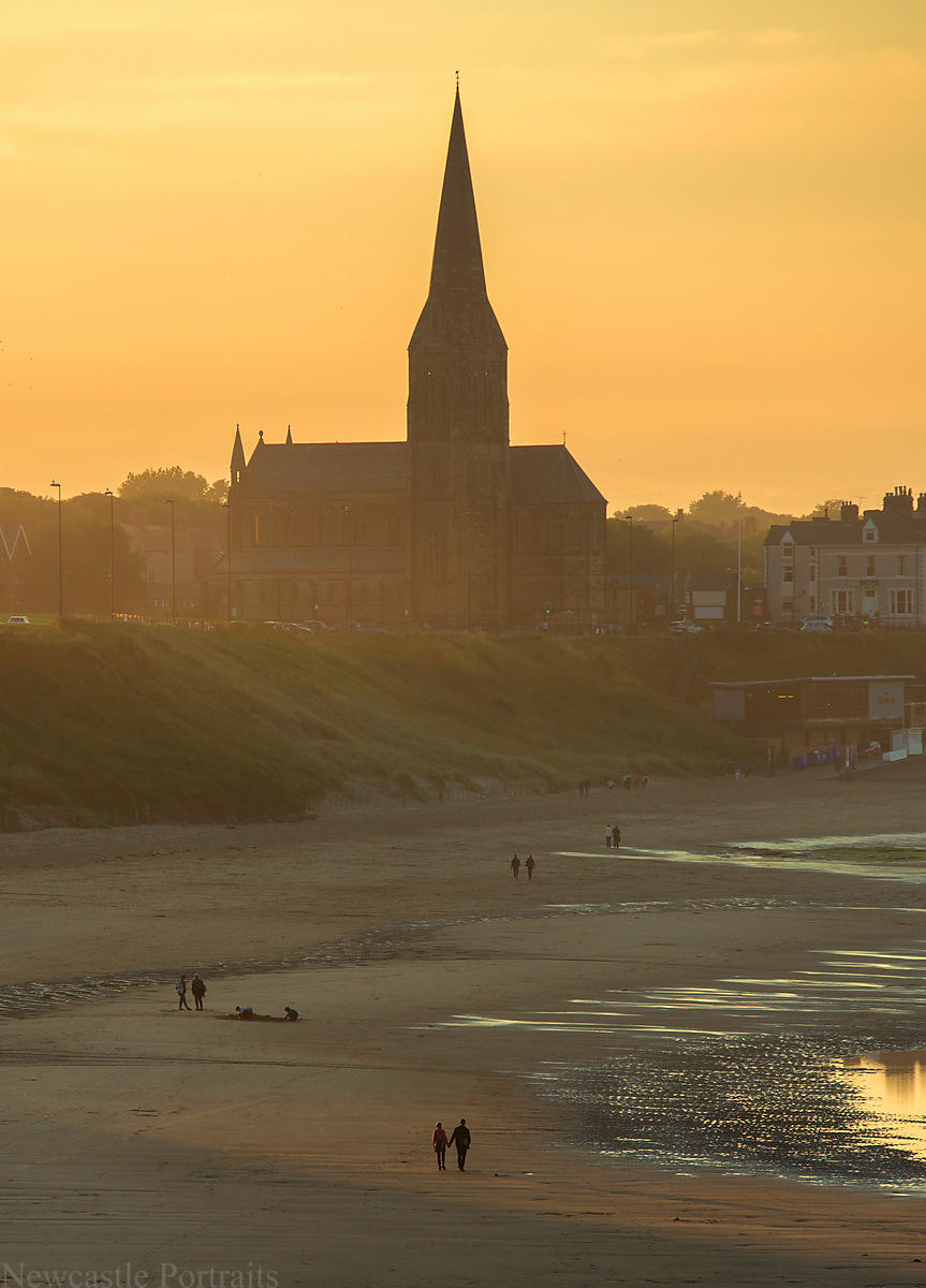 Tynemouth Sunset Walk