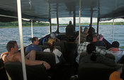 Launch trip on Kazinga channel, Queen Elizabeth National Park, Uganda