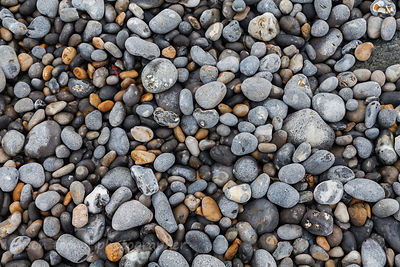 Shingle, pebble beach