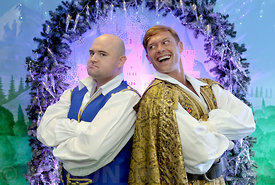 The Royal and Derngate's Christmas panto of Cinderella. Former EastEnders star John Partridge and impressionist Danny Posthil...