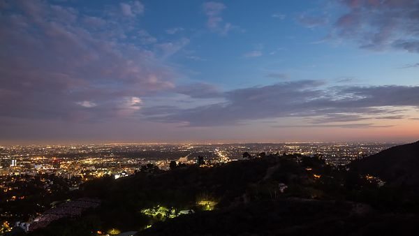 Bird's Eye: A Clear Evening In L.A. For A Show At The Hollywood Bowl