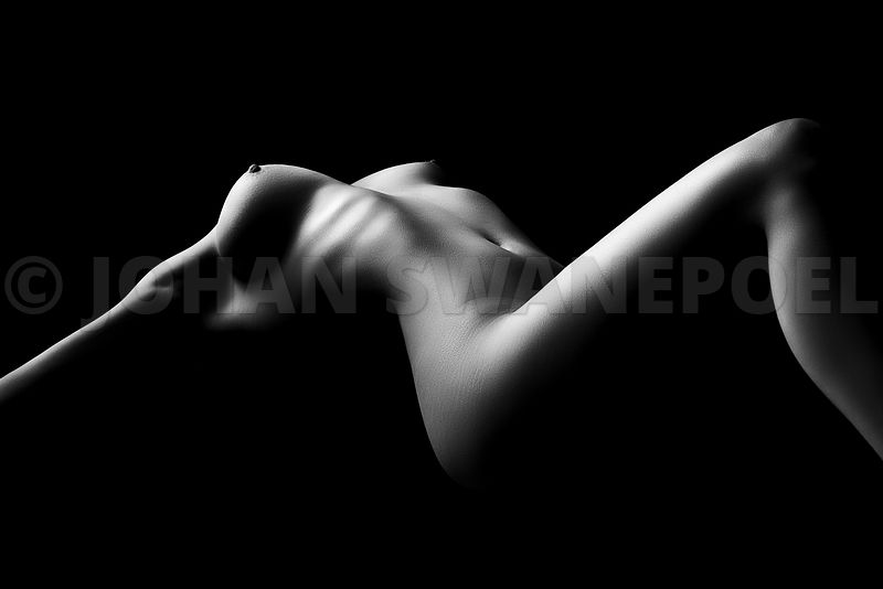Nude woman bodyscape 26