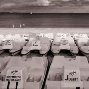 Pedalos |  Weymouth | August 2014