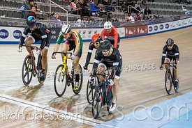 Cat 3-4 Men Keirin 1/2 Finals. Track Ontario Cup #2, January 13, 2019