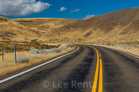 Remote Highway in Central Nevada