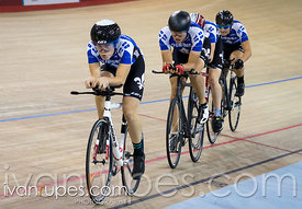 U17 Men's Team Pursuit 3-4 Final. 2015 Canadian Track Championships, October 9, 2015