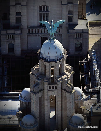 Liver Birds in Liverpool