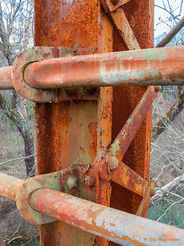 Rusted Bridge Rail