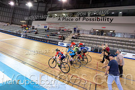 U17 Women Keirin 1-6 Final. Ontario Track Championships, March 3, 2019