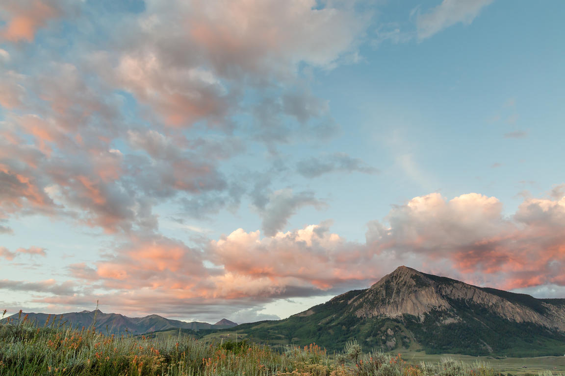 Mount Crested Butte Sunset #2