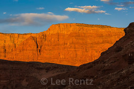 Vermilion Cliffs Viewed from Glen Canyon National Recreation Area