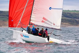 Mini Mayhem, GBR9063T, Melges 24, Weymouth Regatta 2018, 20180908387.