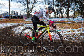 Elite, Youth (17-22) Women. 2018 Canadian Cyclocross Championships, November 10, 2018