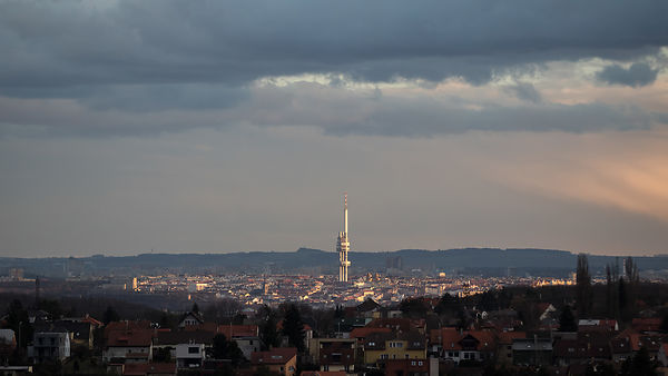 The Žižkov TV Tower, once dubbed the second ugliest building in the world