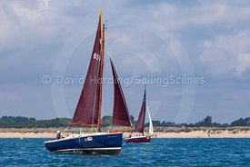 Rascal, Cornish Shrimper 859, Poole Regatta 2018, 20180527252