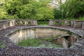 The Italian Garden at Great Ambrook. © Jo Whitworth