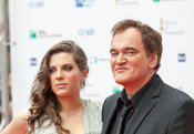 Quentin Tarantino and Courntney Hoffman