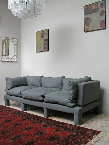 French House made Big grey sofa