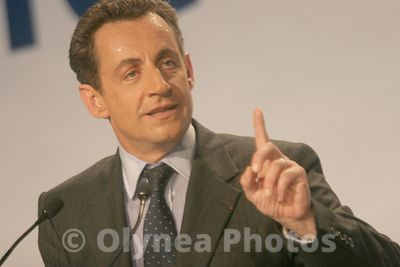 Meeting Nicolas SARKOZY