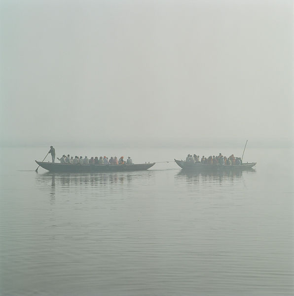 Pilgrims on the Ganges