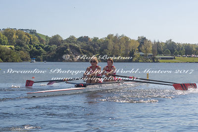 Taken during the World Masters Games - Rowing, Lake Karapiro, Cambridge, New Zealand; ©  Rob Bristow; Frame 352 - Taken on: T...