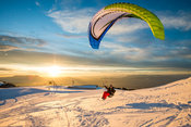Soaring at Le Semnoz with Michael Regnier