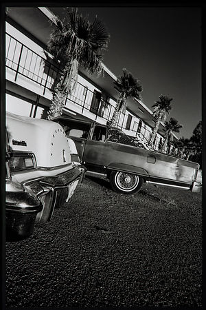 'Baker Motel' California 1997