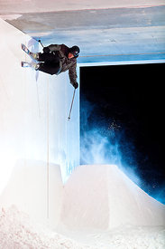 faisandiere wall in Vars La Foret Blanche - rider : Quentin Pelmont