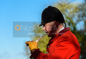 John Holliday near Woolsthorpe. The Belvoir Hunt at the Kennels 13/11
