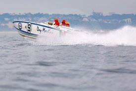 Dry Martini, B9, Fortitudo Poole Bay 100 Offshore Powerboat Race, June 2018, 20180610183