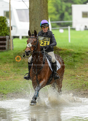 Sarah Charnley and ENJOY II - Rockingham International Horse Trials 2017