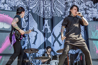 Falling In Reverse, Aftershock 2013