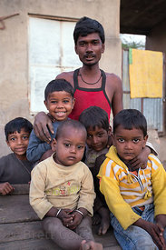 Family portrait, Pushkar, Rajasthan, India. Good friends of mine.