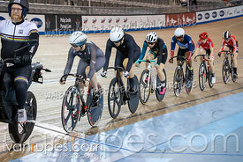 Women Keirin 1-6 Final. Ontario Track Championships, March 3, 2019