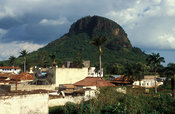 Tororo rock is a small but steep volcanic plug in town, Tororo, Uganda