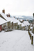 Gold Hill in the snow