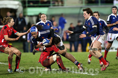 Women's Six Nations rugby France / Wales