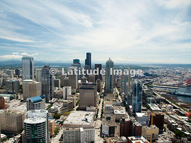Skyscrapers Of Downtown Seattle, Seattle