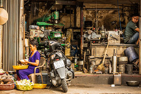 Saigon Metalworks 2016:  Photographer Neil Emmerson  £975 inc uk vat:   Edition of 25.